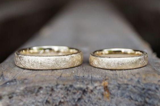 anillos para boda de oro