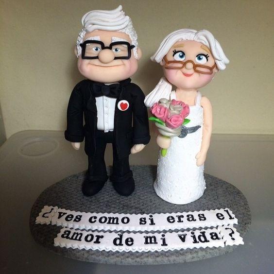 decoracion de tarta bodas de oro