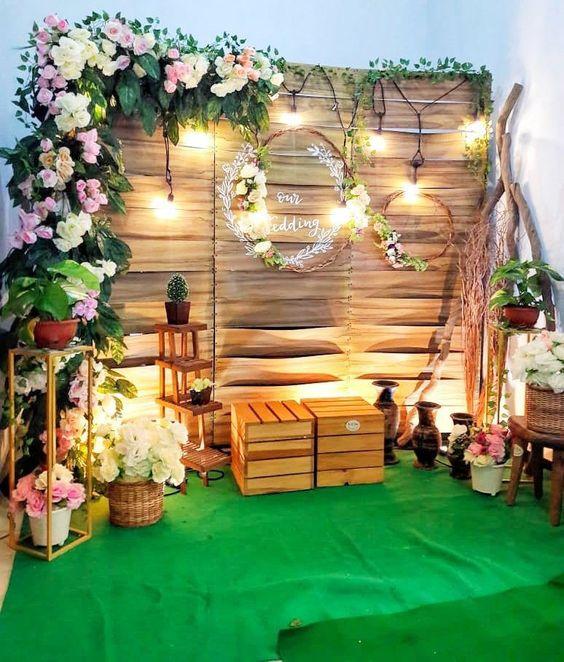 espacio de fotos en bodas de oro