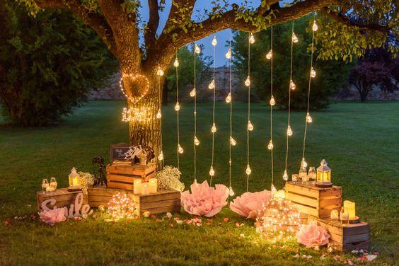espacio de fotos para bodas de oro