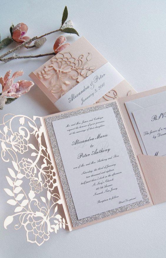 linda invitacion para bodas de oro