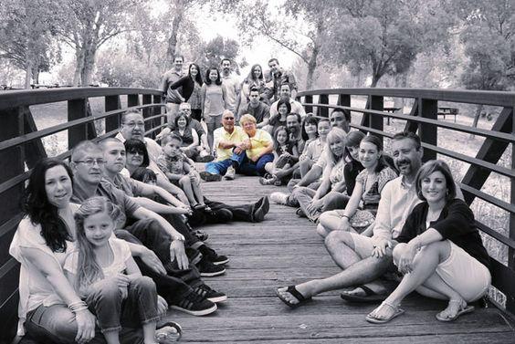 nietos e hijos en boda de oro
