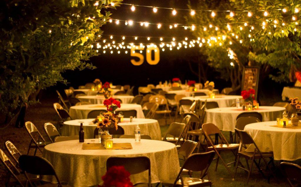 sorpresa de cena para boda de oro